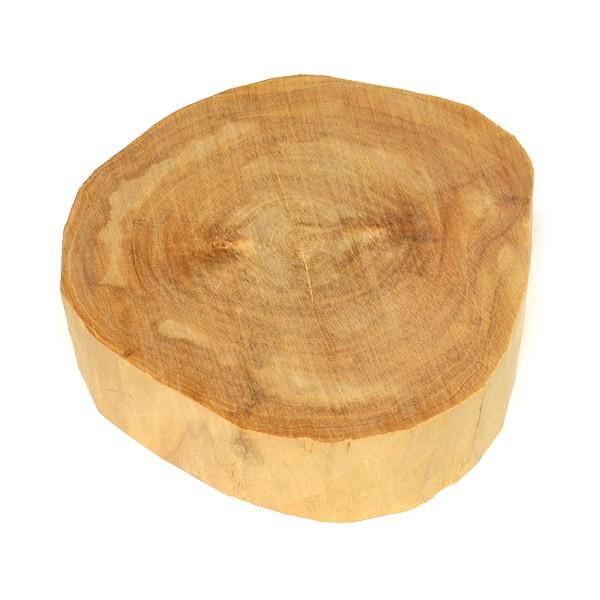 【香木・白檀・サンダルウッド】バヌアツ産白檀木 451g 直径約14cm【上品】Sandalwood【メール便不可商品】