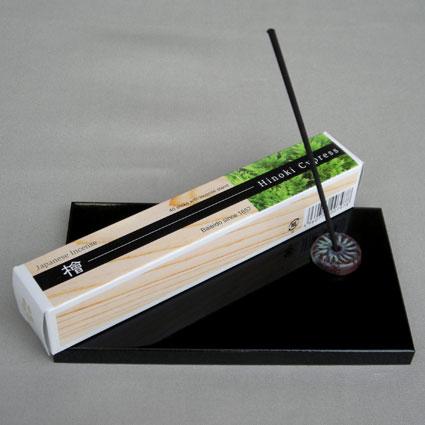 ■少しずついろんな香りが楽しめるお香■IMAGINEシリーズ■ ■檜の薫り Japanese Incense お歳暮 国内送料無料 Cypress 檜 Hinoki 梅栄堂