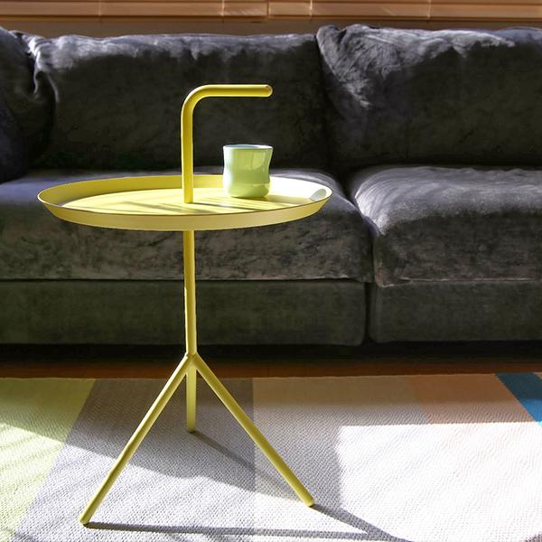 HAY (ヘイ)DLMサイドテーブル/コーヒーテーブルイエロー 北欧家具【大型送料】
