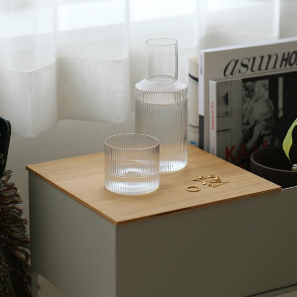 受注発注 ferm LIVING ファームリビング 輸入 Tray for Plant Box Tier専用トレイ 日本正規代理店品 北欧 インテリア ナチュラルオーク マーケティング Two L プラントボックス