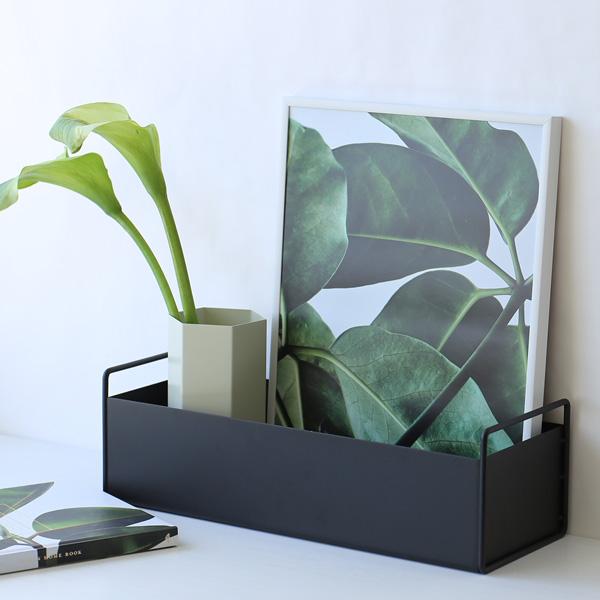 ferm LIVING (ファームリビング) Plant Box (プラントボックス) S ブラック 北欧/インテリア/日本正規代理店品