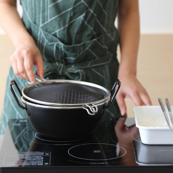 ブランド一覧>その他のブランド 食器・キッチン>la base 鉄揚げ鍋セット