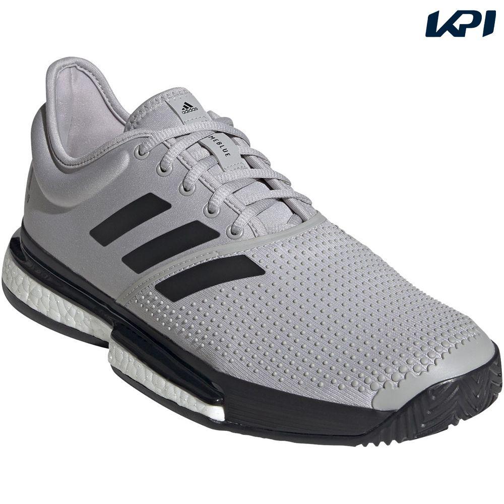 【全品10%OFFクーポン&エントリーでP3倍】アディダス adidas テニスシューズ メンズ SoleCourt Boost Primeblue EG7693