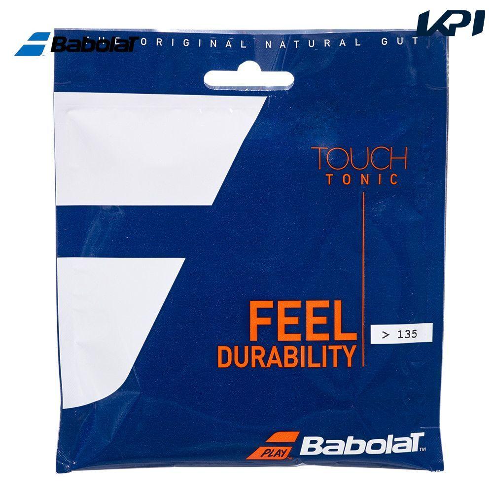 全品10%OFFクーポン ~9 12 バボラ 送料無料でお届けします Babolat テニスガット ストリング 201032 TONIC TOUCH タッチ トニック 12m単張 爆買いセール