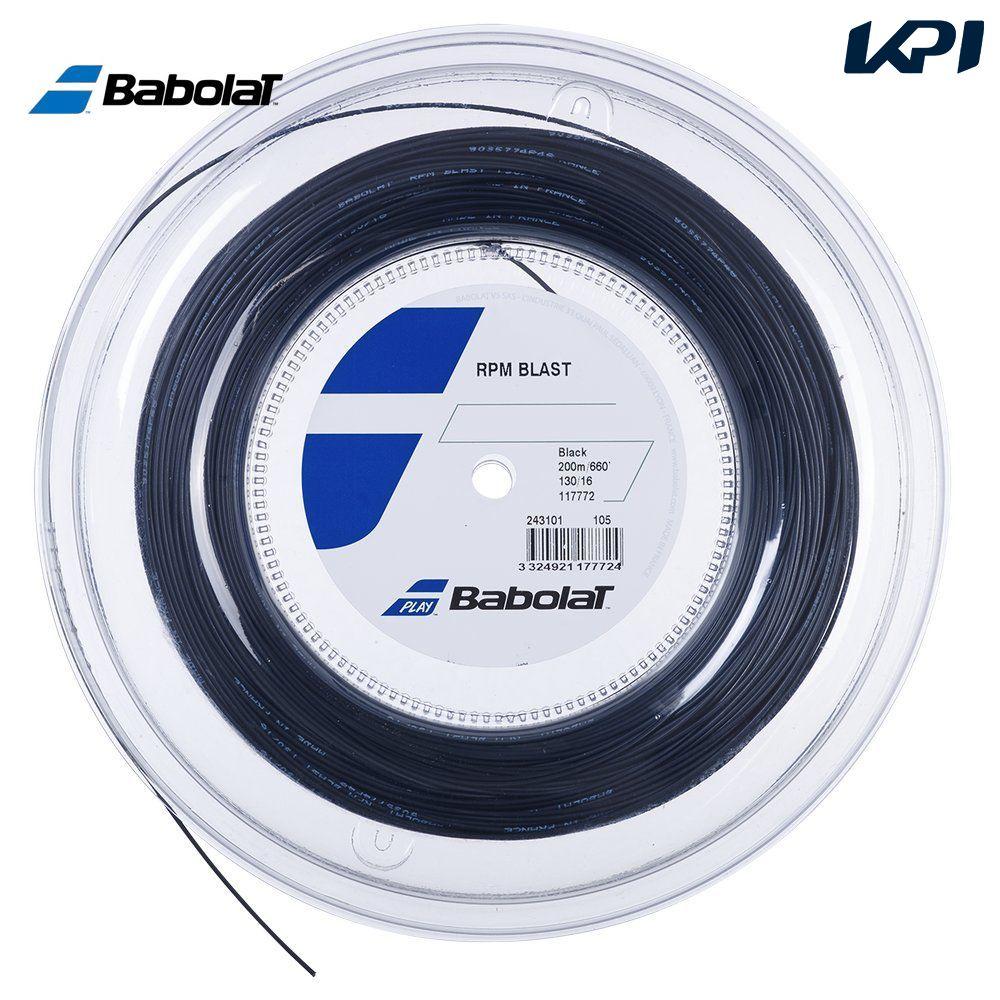 送料無料 全品10%OFFクーポン ~9 12 バボラ 特価キャンペーン Babolat テニスガット 243101 定価 RPM ロールガット 200mロール BLAST ストリング RPMブラスト