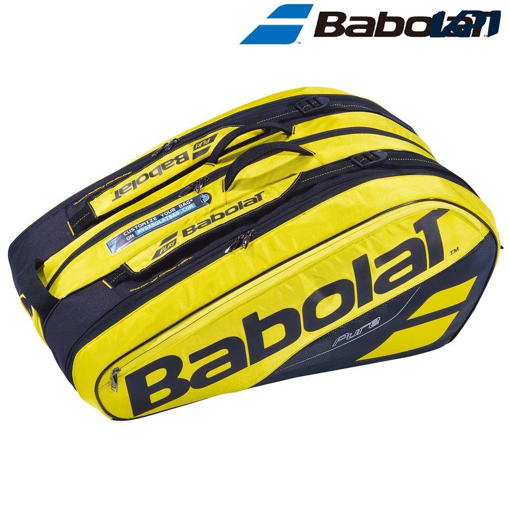 『10%OFFクーポン対象』「あす楽対応」バボラ Babolat テニスバッグ・ケース PURE AERO RACKET HOLDER X12 ラケットホルダー 12本収納可 ラケットケース BB751180 『即日出荷』