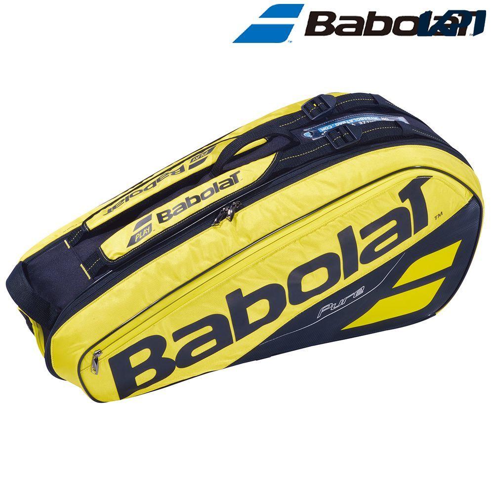 【全品10%OFFクーポン対象】バボラ Babolat テニスバッグ・ケース PURE AERO RACKET HOLDER X6 ラケットホルダー 6本収納可 ラケットケース BB751182
