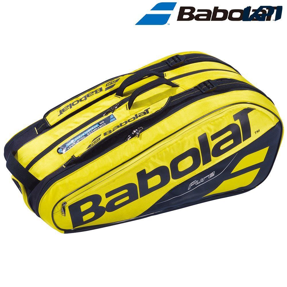 【全品10%OFFクーポン対象】バボラ Babolat テニスバッグ・ケース PURE AERO RACKET HOLDER X9 ラケットホルダー 9本収納可 ラケットケース BB751181