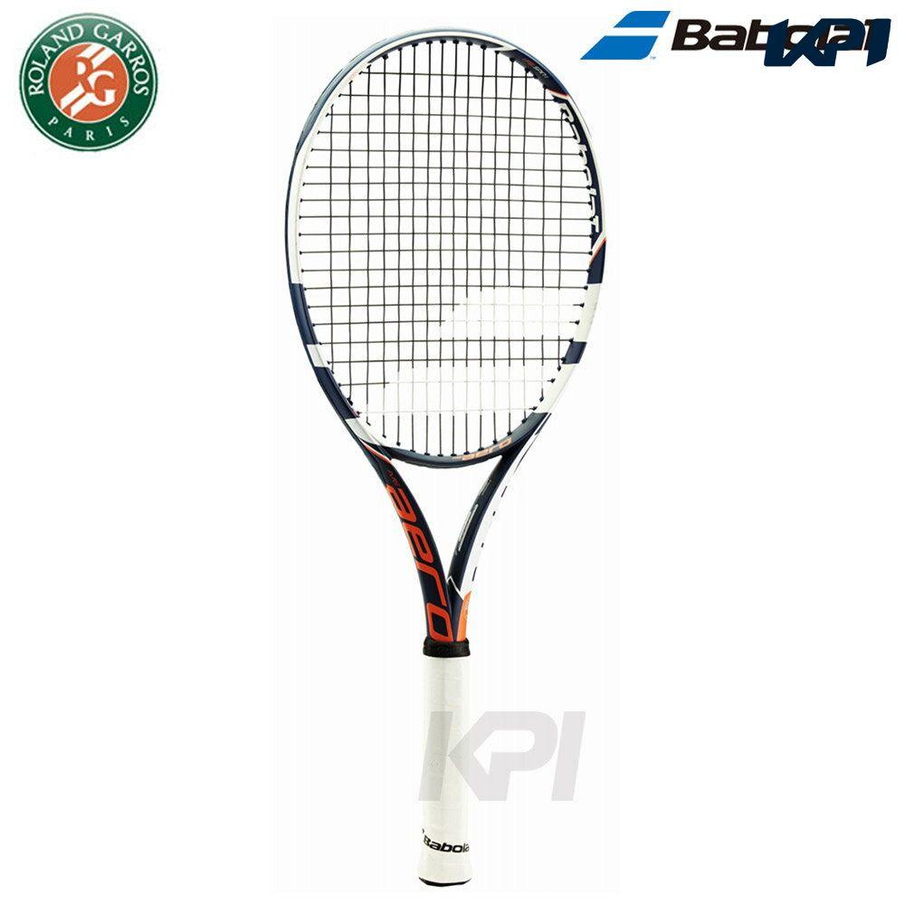 """""""2017型号""""Babolat(babora)""""PURE AERO FRENCH OPEN(pyuaaerofurenchiopun)BF101247""""硬式网球球拍"""