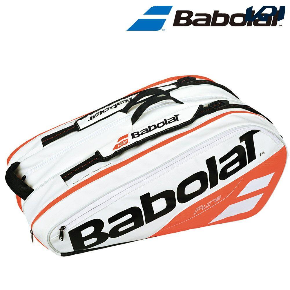 『10%OFFクーポン対象』「ランドリーバッグ2枚プレゼント」バボラ Babolat テニスバッグ・ケース RACKET HOLDER X12 ラケットバッグ(ラケット12本収納可) BB751170
