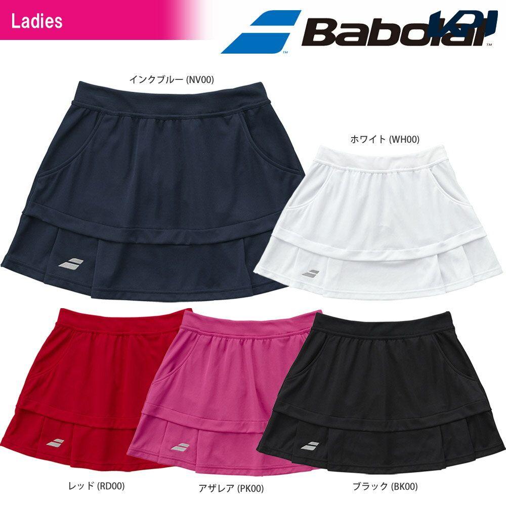 【全品10%OFFクーポン対象】バボラ Babolat テニスウェア レディース SKIRT スカート BTWLJE07 SS[ポスト投函便対応]