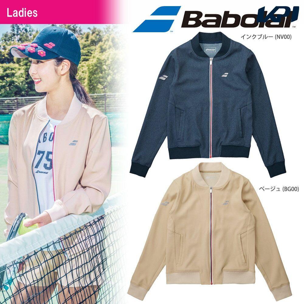 『10%OFFクーポン対象』バボラ Babolat テニスウェア レディース デニムジャケット BTWMJK44 2018FW