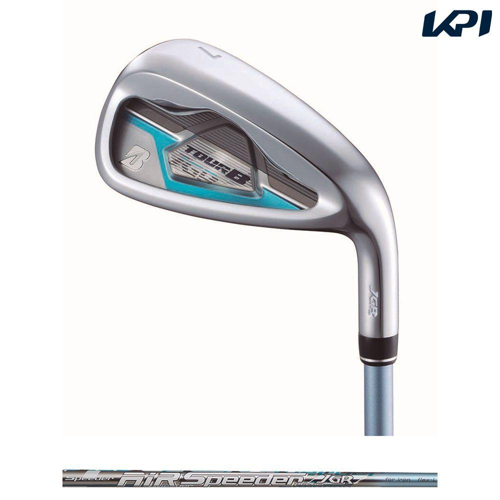 【全品10%OFFクーポン対象】ブリヂストン BRIDGESTONE ゴルフクラブ レディース TOUR B JGR LADY IRON BLUE [AiR Speeder JGR for Iron](カーボン)5本セット(#7~9,#PW,SW) GLJB5I