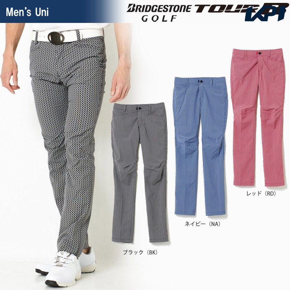 【全品10%OFFクーポン】ブリヂストンゴルフ BRIDGESTONE ゴルフウェア メンズ TOUR B ツアーB 3D解析パンツ(B-3000) JGM33K 2018SS