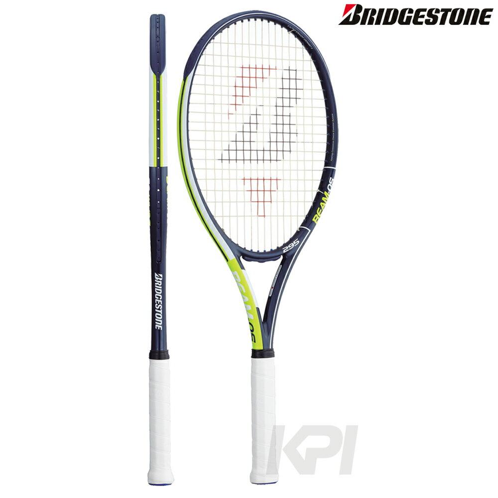 【店内最大3000円クーポン】「ボール3缶プレゼント」「2017新製品」BRIDGESTONE(ブリヂストン) 「BEAM-OS 295(ビームオーエス 295) BRABM1」硬式テニスラケット