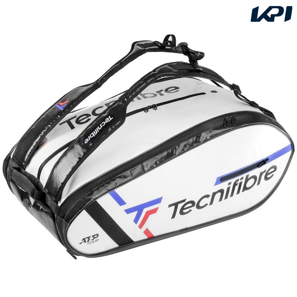 【10000円以上で1000円引クーポン対象】テクニファイバー Tecnifibre テニスバッグ・ケース TOUR ENDURANCE WHITE 15R ラケットバッグ(15本入) TFB090