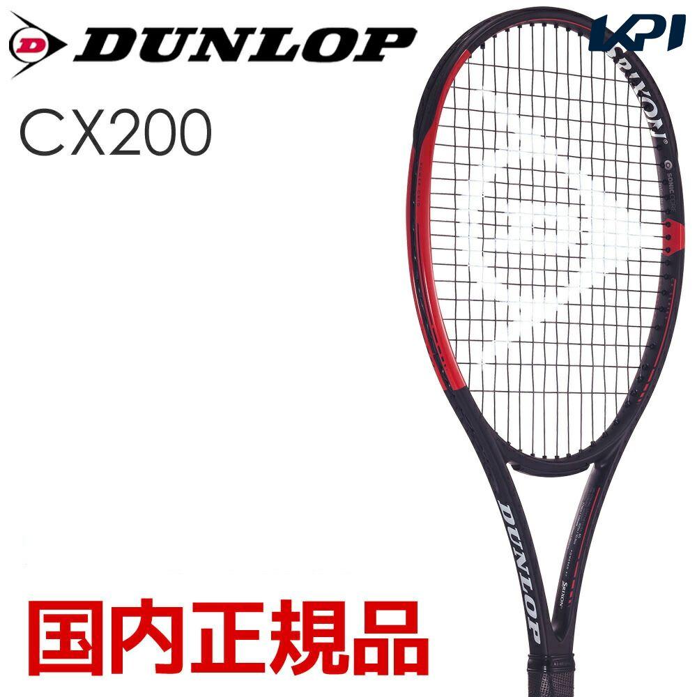 「KPIフォート1缶&グリップ3本プレゼント」ダンロップ DUNLOP 硬式テニスラケット CX 200 DS21902【2019春ダンロップ・スリクソンフェスタ】