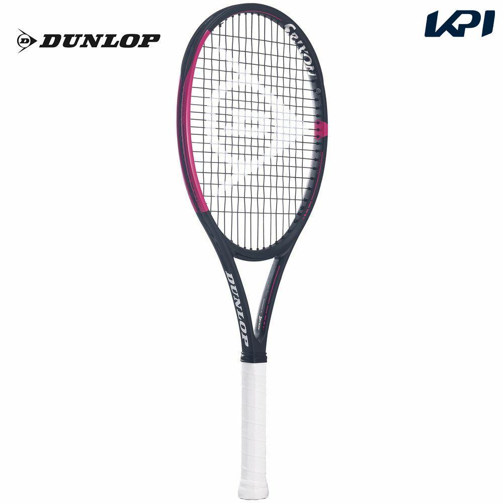 【10000円以上で1000円引クーポン対象】「あす楽対応」ダンロップ DUNLOP 硬式テニスラケット CX400 BLACK×PINK(ブラック×ピンク) DS21906 『即日出荷』