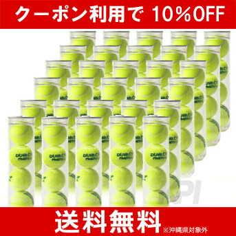 ※団体様限定特別価格 【10%OFFクーポン対象】DUNLOP(ダンロップ)プラクティス1箱(30缶=120球)テニスボール
