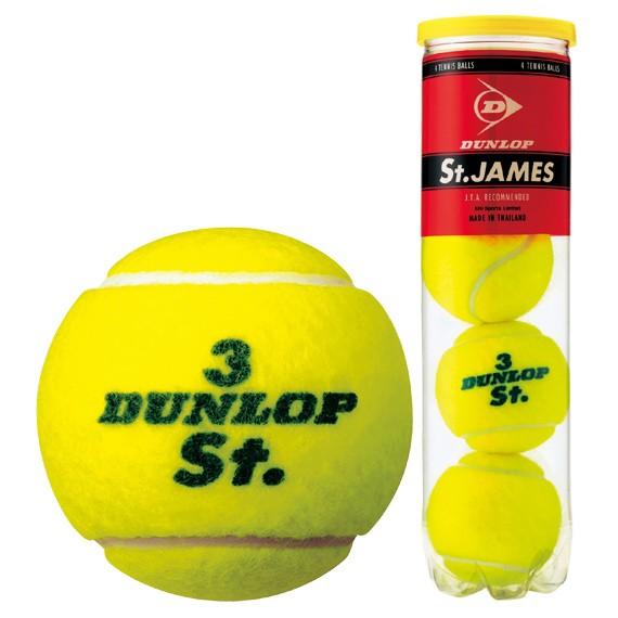 DUNLOP (Dunlop) St. JAMES (Saint James) one (15 cans /60 ball) tennis ball