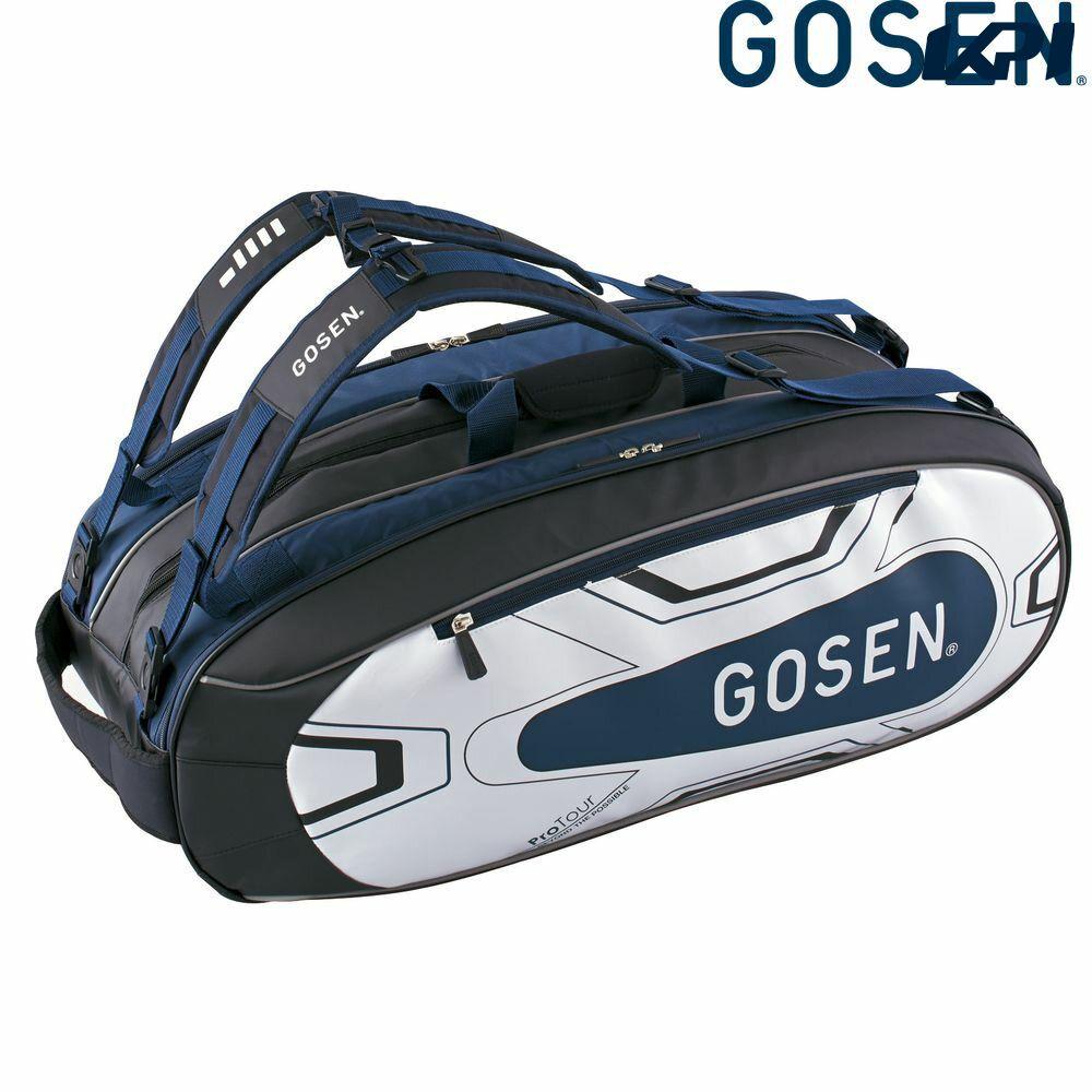 『10%OFFクーポン対象』ゴーセン GOSEN テニスバッグ・ケース ユニセックス ラケットバッグProTour BA18PRTG-17
