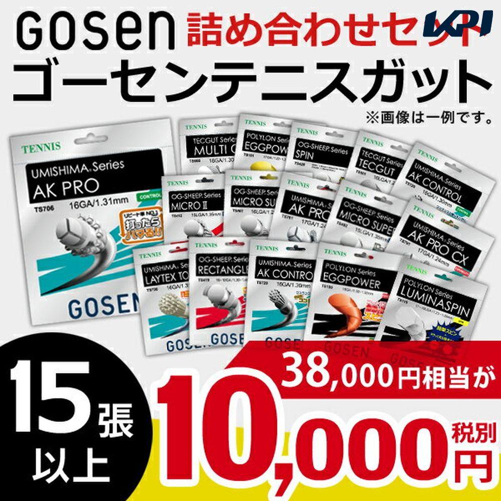 ゴーセンガット 詰め合わせセット 硬式テニスストリング 10000円