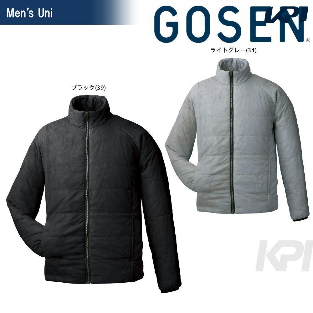 【全品10%OFFクーポン対象】GOSEN(ゴーセン)「UNI アイダーウォームスジャケット Y1612」テニスウェア「FW」【KPI】