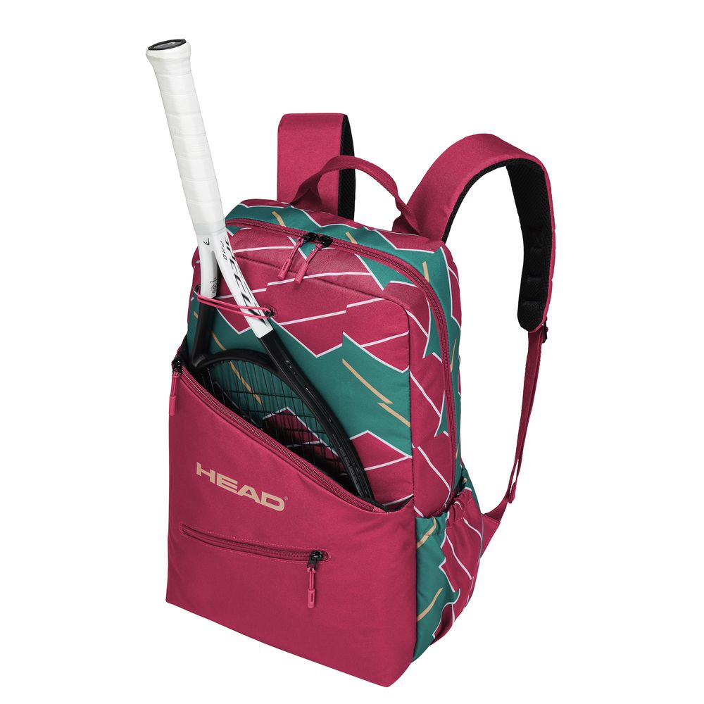 All Article 10 Off Coupon Objects Head Tennis Bag Case Women S Backpack Pink Green 283299