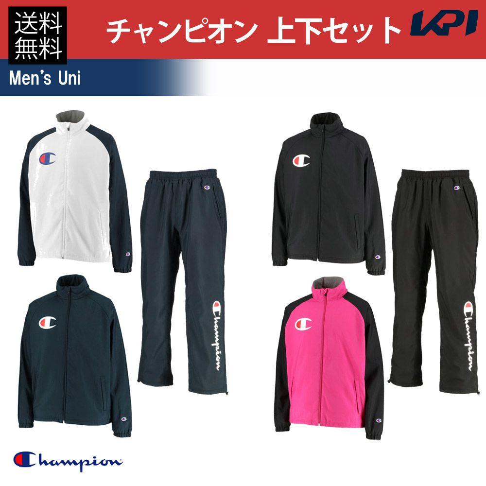 テニスウェア C3QSC25-C3QSD25 ジャケット&パンツ 【10%OFFクーポン】Champion(チャンピオン)[メンズ 上下セット