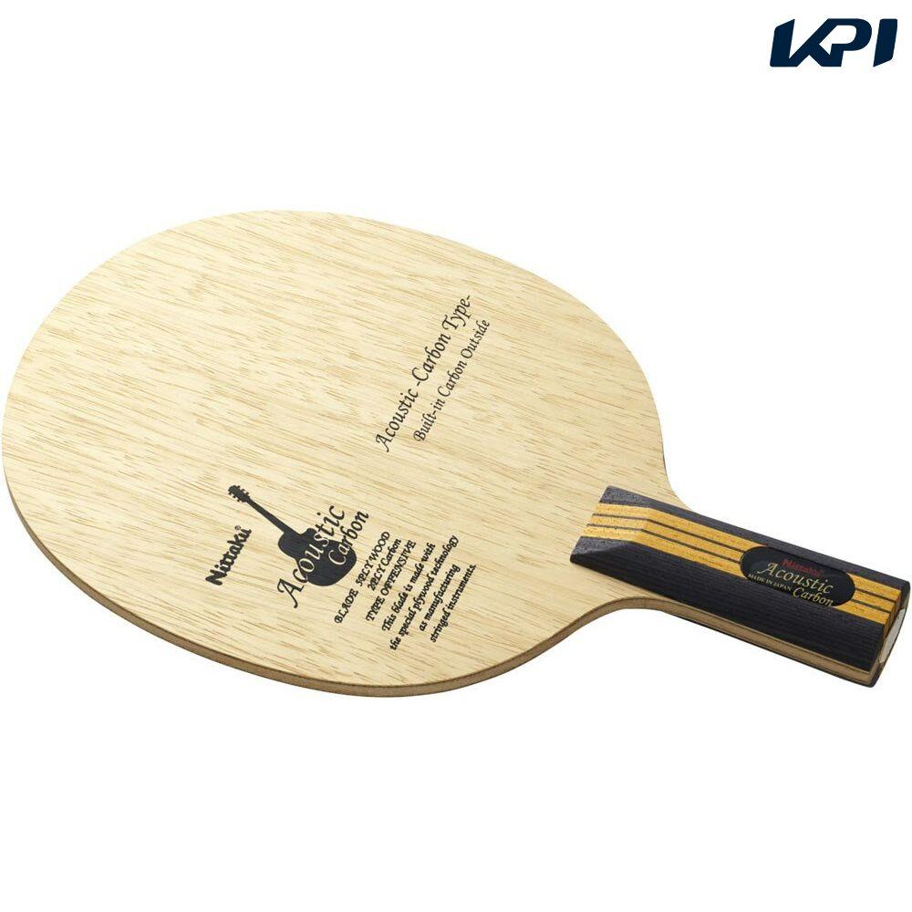 『10%OFFクーポン対象』Nittaku(ニッタク)[【卓球 中国式ペンラケット】 アコースティックカーボンC NC0179]卓球ラケット