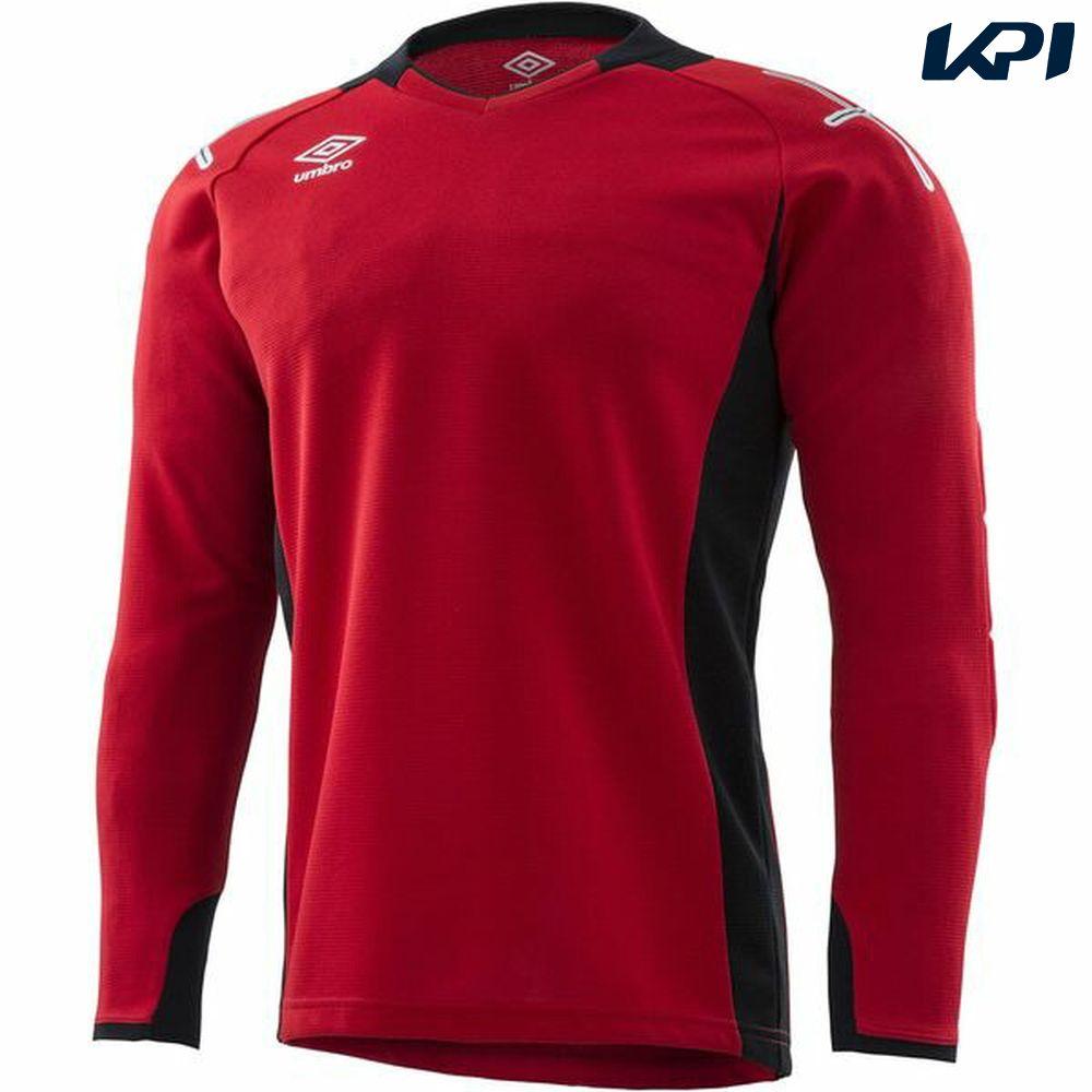 【全品10%OFFクーポン対象】アンブロ UMBRO サッカーウェア ゴールキーパーシャツ UAS6707G-MRED 2018