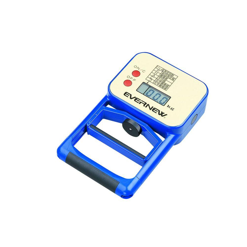 学校機器設備用品 EKJ077 【10%OFFクーポン】エバニュー デジタル握力計 EVERNEW