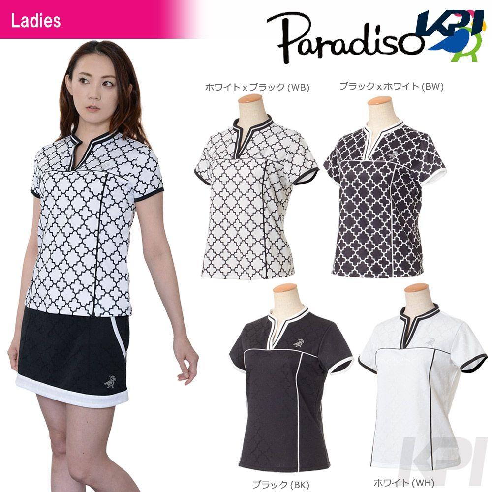 PARADISO(パラディーゾ)「レディース半袖シャツ ICL71A」テニスウェア「2017FW」[ポスト投函便対応]