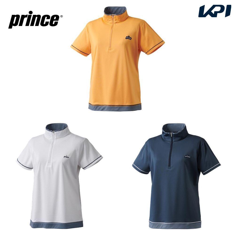 【全品10%OFFクーポン対象】プリンス Prince テニスウェア レディース ゲームシャツ WS0102 2020SS 2月発売予定※予約 [ポスト投函便対応]