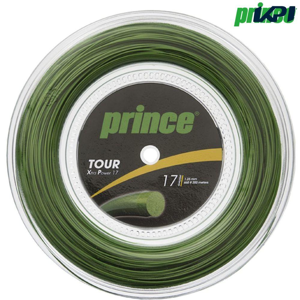 【1000円クーポン対象】プリンス Prince テニスガット・ストリング TOUR XP 17 (ツアーXP17) 200mロール 7J930 硬式テニス ストリング