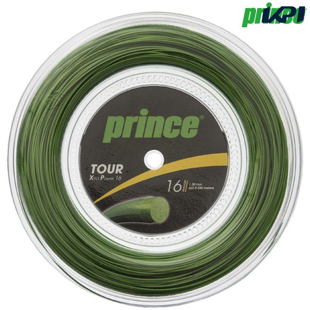 【全品10%OFFクーポン】プリンス Prince テニスガット・ストリング TOUR XP 16 (ツアーXP16) 200mロール 7J931 硬式テニス ストリング