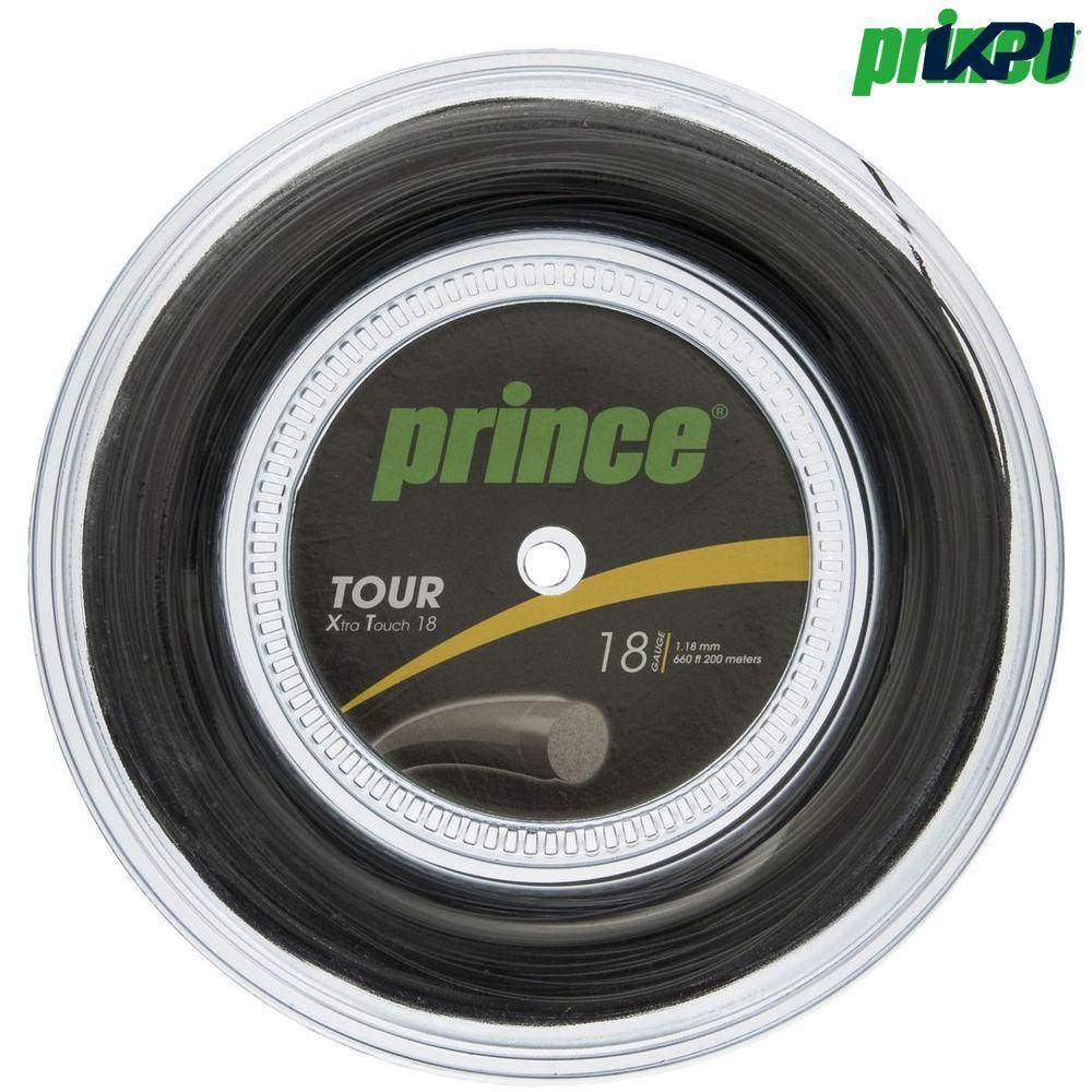 【2018A/W新作★送料無料】 プリンス ストリング Prince テニスガット・ストリング TOUR XT 18 TOUR (ツアーXT18) (ツアーXT18) 200mロール 7J933 硬式テニス ストリング, ISHIBASHI(カーペット):342b2a2f --- business.personalco5.dominiotemporario.com