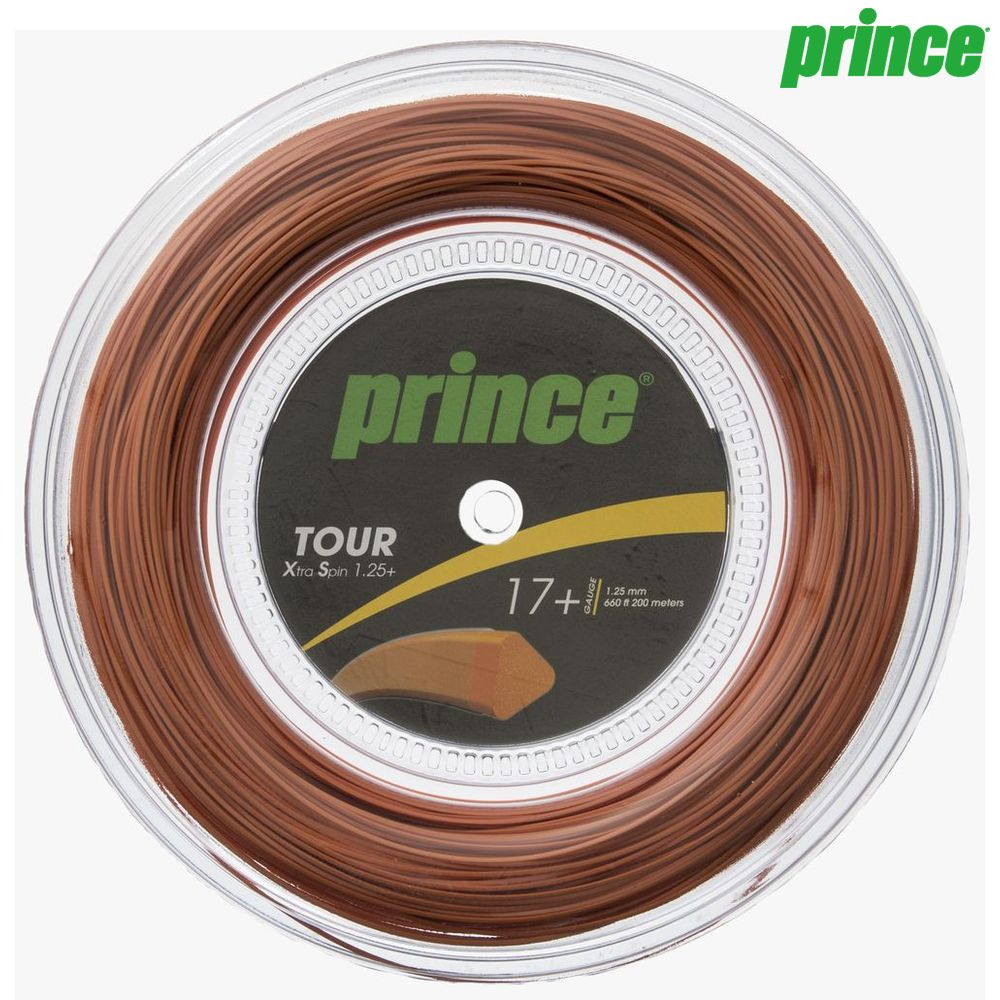 【1000円クーポン対象】プリンス Prince テニスガット・ストリング TOUR XS 17+ (ツアーXS17+) 200mロール 7J934 硬式テニス ストリング
