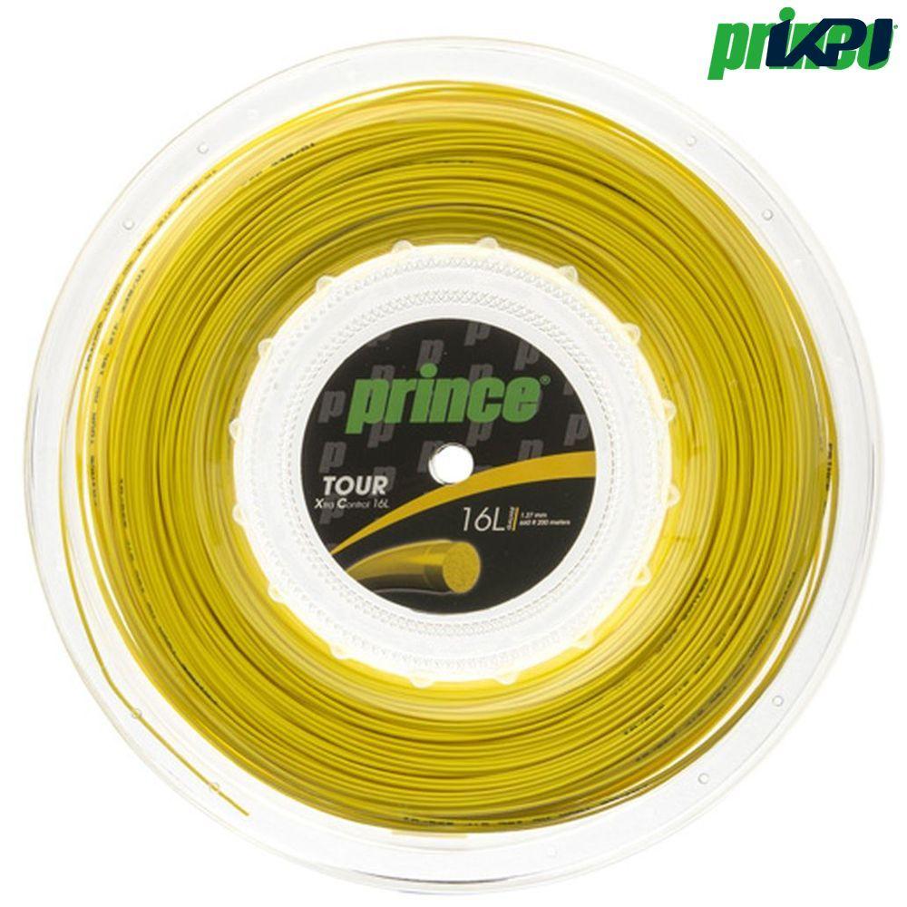 『10%OFFクーポン対象』プリンス Prince テニスガット・ストリング TOUR XC 16L (ツアーXC16L) 200mロール 7J937 硬式テニス ストリング