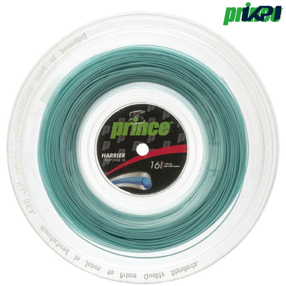 【全品10%OFFクーポン】プリンス Prince テニスガット・ストリング HARRIER RESPONSE 16 (ハリアーレスポンス16) 200mロール 7JJ022 硬式テニス ストリング
