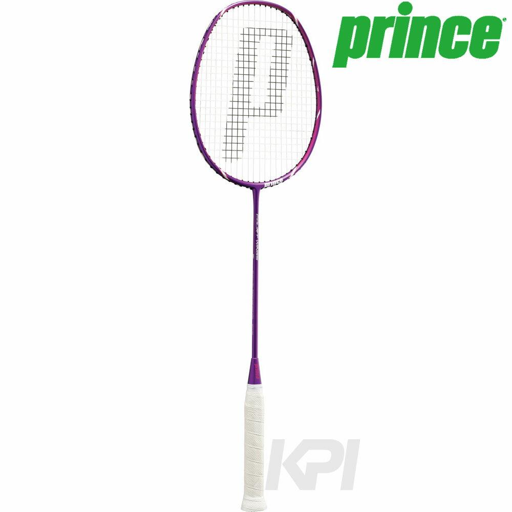 【全品10%OFFクーポン&エントリーでP3倍】Prince(プリンス)[COURT WINGS SL(コートウィングスーパーライト) PU/MG G6 7BJ041]バドミントンラケット