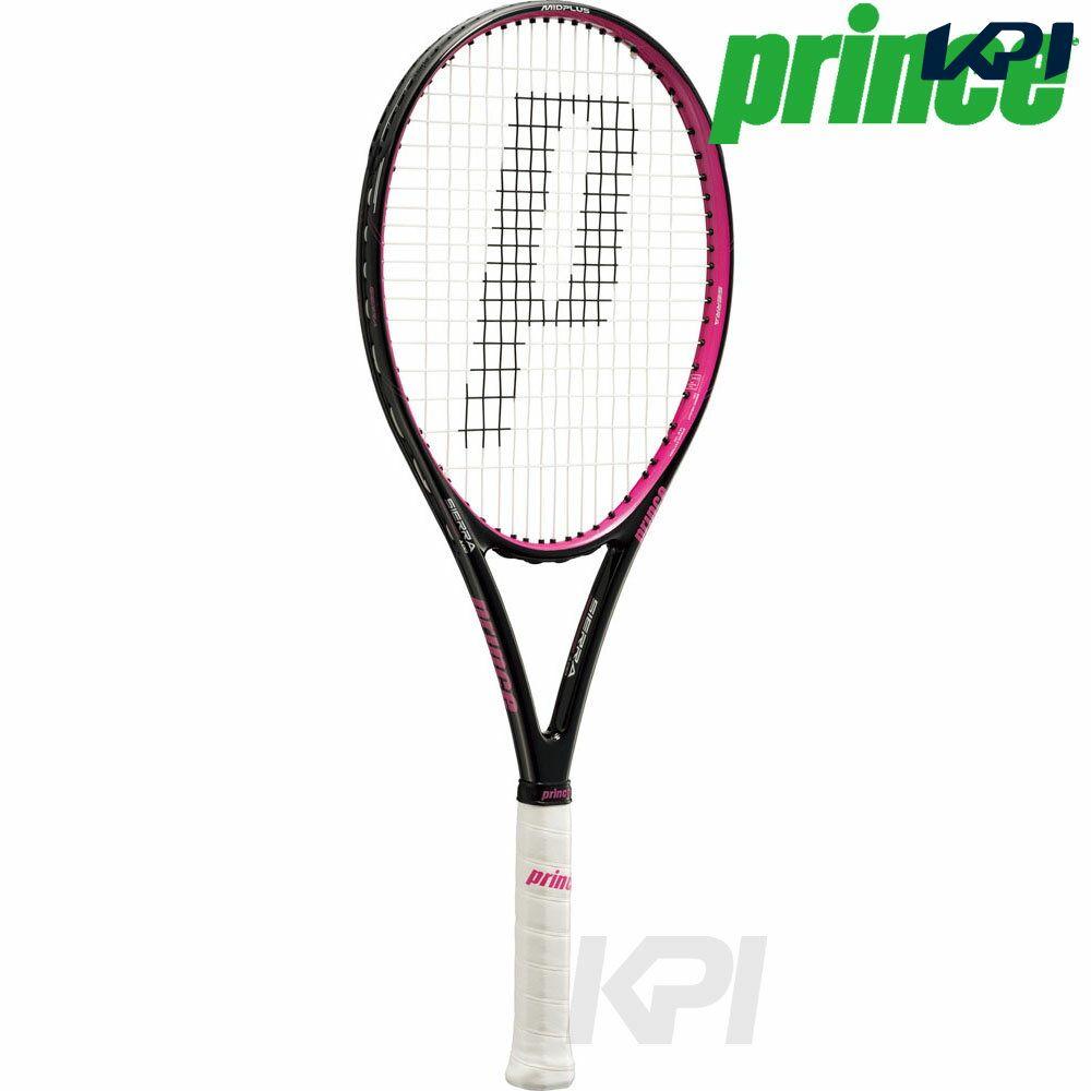 『10%OFFクーポン対象』「2017新製品」Prince(プリンス)[SIERRA 100(シエラ 100) BLK/MGT 7TJ038]硬式テニスラケット(スマートテニスセンサー対応)