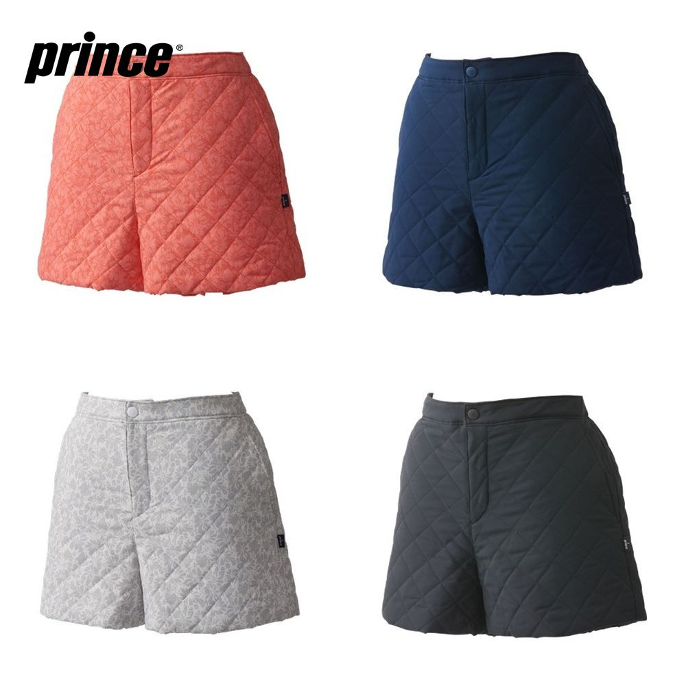 【全品10%OFFクーポン対象】プリンス Prince テニスウェア レディース 中綿ショートパンツ WL9854 2019FW