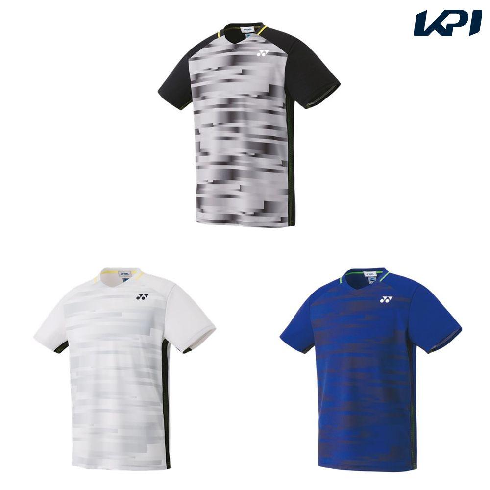 【全品10%OFFクーポン対象】ヨネックス YONEX テニスウェア ユニセックス ゲームシャツ(フィットスタイル) 10301 2019SS[ポスト投函便対応]