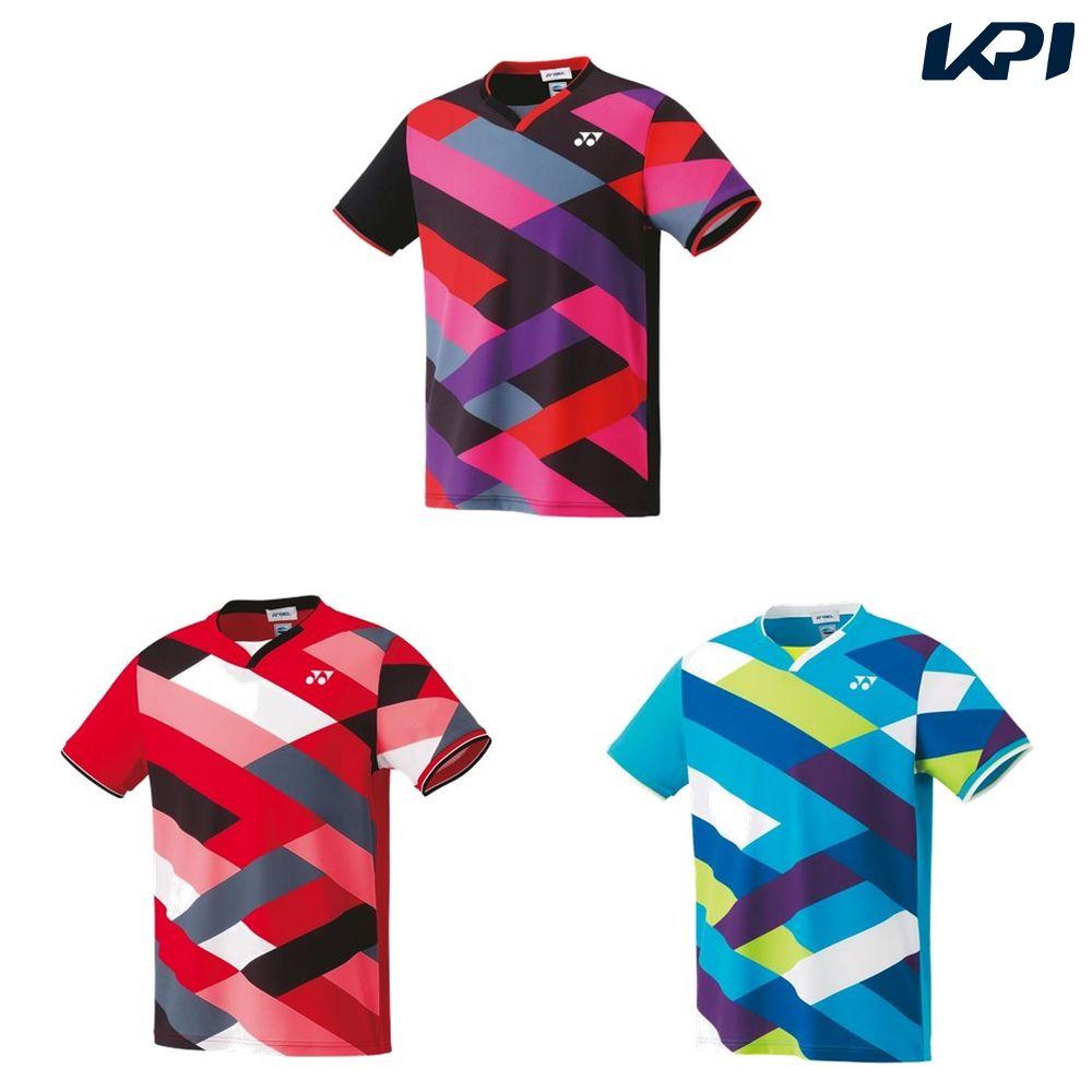 【全品10%OFFクーポン対象】ヨネックス YONEX テニスウェア ユニセックス ゲームシャツ(フィットスタイル) 10303 2019SS[ポスト投函便対応]