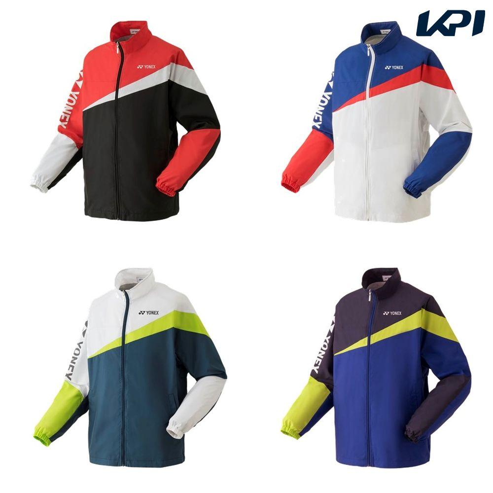 【全品10%OFFクーポン対象】ヨネックス YONEX テニスウェア ユニセックス 裏地付ウォームアップシャツ 52020 2019SS