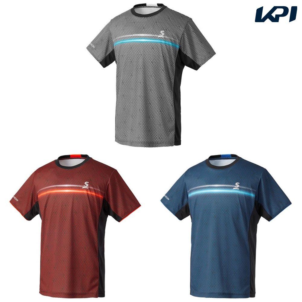 【全品10%OFFクーポン対象】「あす楽対応」スリクソン SRIXON テニスウェア ユニセックス ゲームシャツ SDP-1905 2019SS[ポスト投函便対応] 『即日出荷』