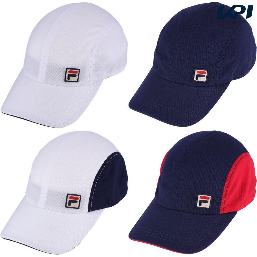 【全品10%OFF&最大4000円クーポン~9/12】フィラ FILA テニス帽子 ユニセックス メッシュキャップ VM9707 2019SS