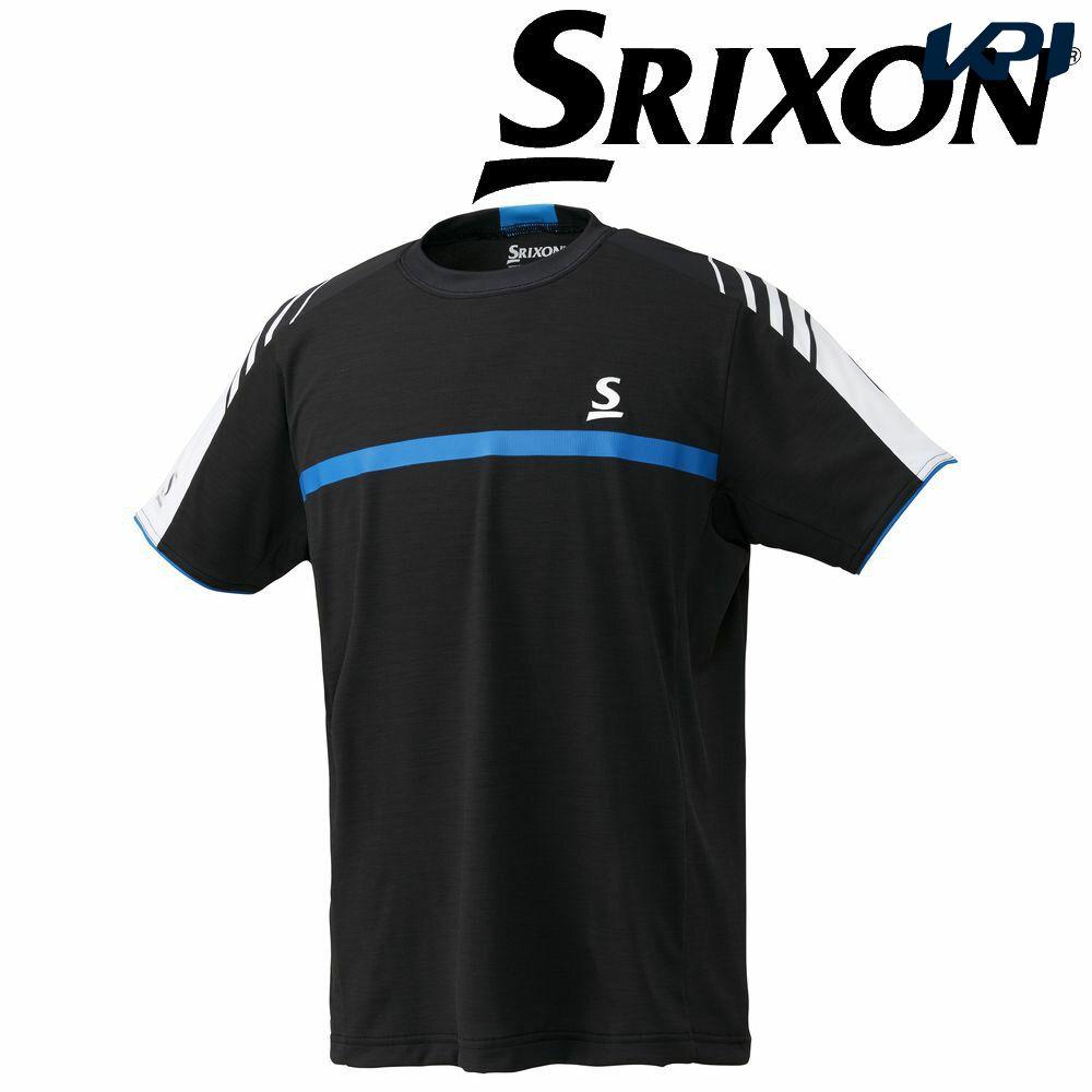 【全品10%OFFクーポン対象】「あす楽対応」スリクソン SRIXON テニスウェア ユニセックス ゲームシャツ SDP-1840 SDP-1840 2018FW[ポスト投函便対応] 『即日出荷』
