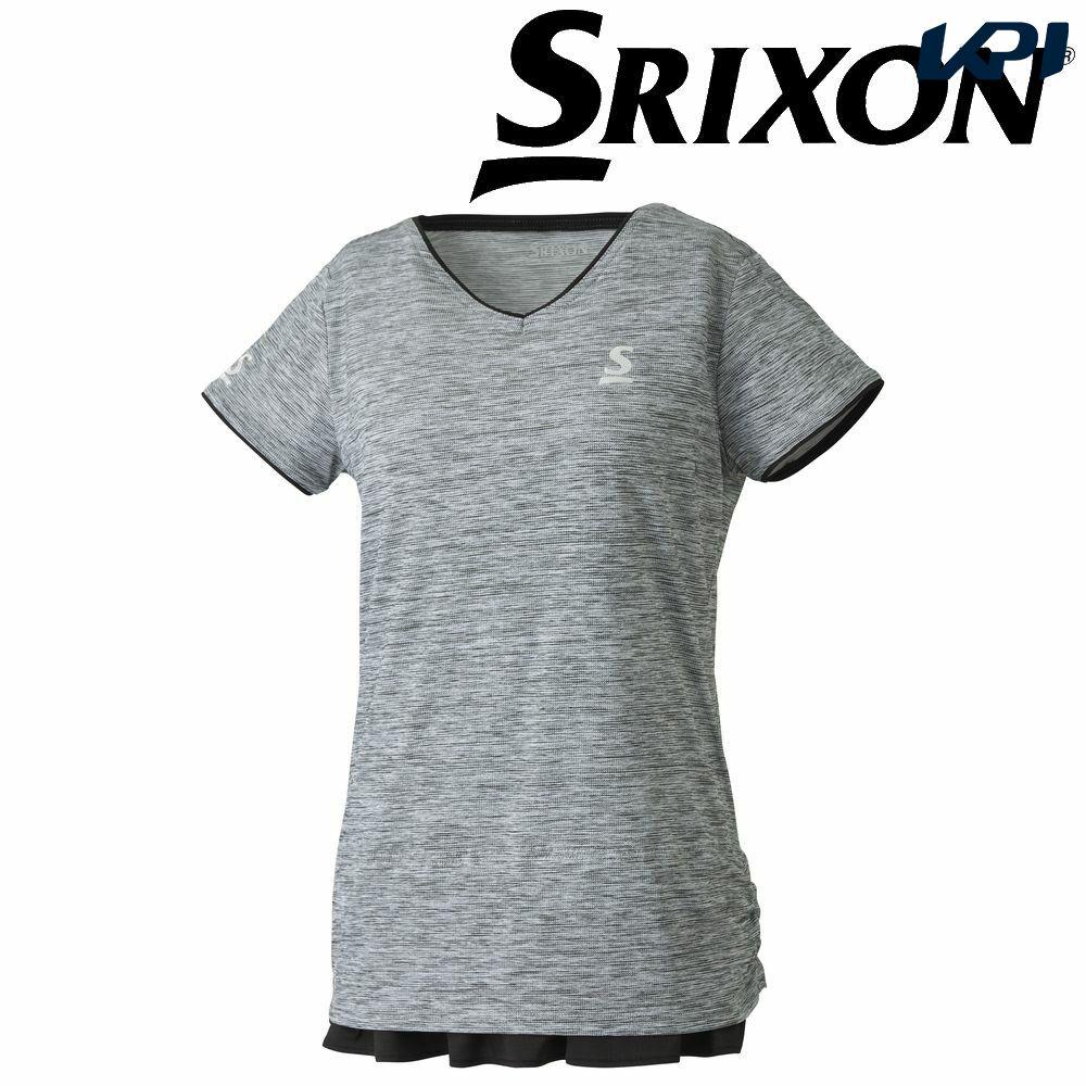 【全品10%OFFクーポン対象】「あす楽対応」スリクソン SRIXON テニスウェア レディース ゲームシャツ SDP-1860W SDP-1860W 2018FW[ポスト投函便対応] 『即日出荷』